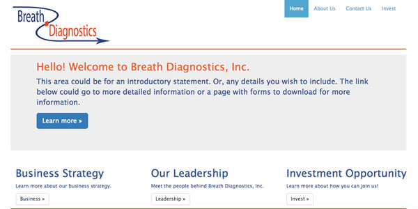 Thumbnail of Breath Diagnostics, Inc.