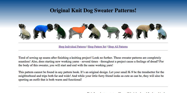 Thumbnail of Patterns Website